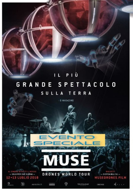 MUSE DRONES WORLD TOUR-prevendite aperte