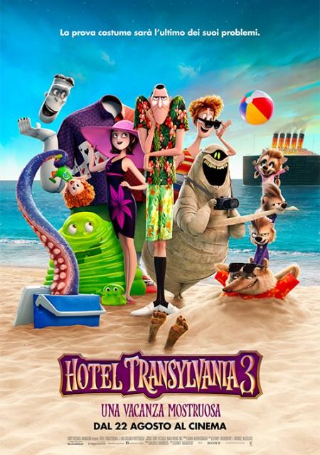 Hotel Transylvania 3: Una vacanza mostruosa dal 22 Agosto