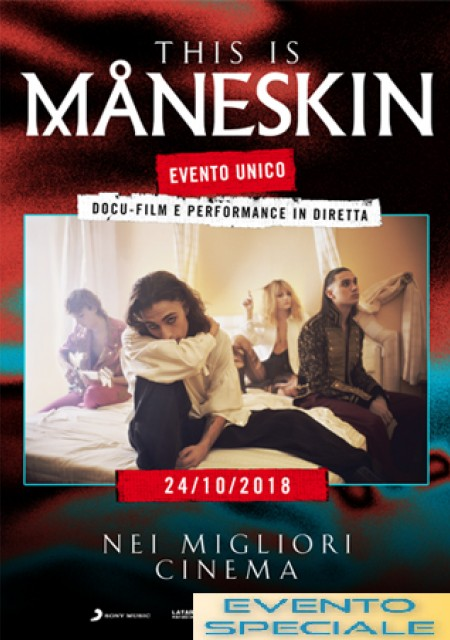 THIS IS MANESKIN -  PREVENDITE APERTE